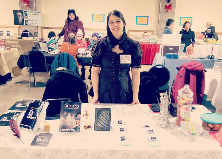 Stéphanie Sylvain, auteure de l'imaginaire au Salon du livre de Joliette
