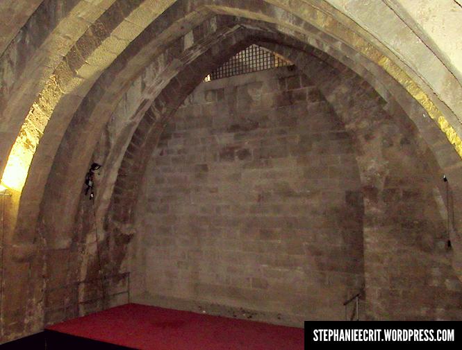 12 - Sur les traces du roi des ombres - cave château olite