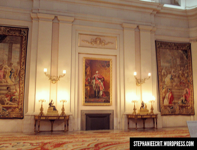 12 - Sur les traces du roi des ombres - Palais madrid