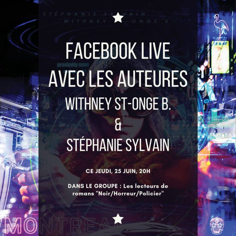 Stéphanie Sylvain et Withney St-Onge en live